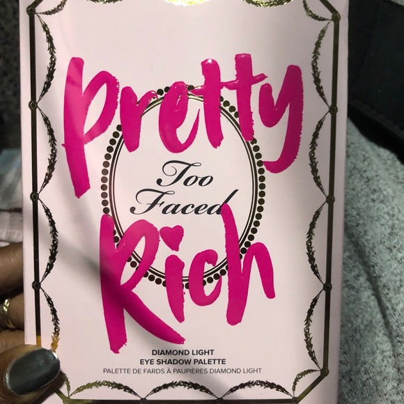 Too Faced Other - Too faced pretty Rich eyeshadow palette